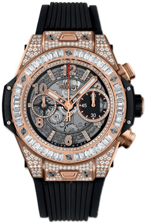 Hublot Big Bang 42Mm 441.OX.1180.RX.0904 Skelettskuren/Gummi Ø42 mm