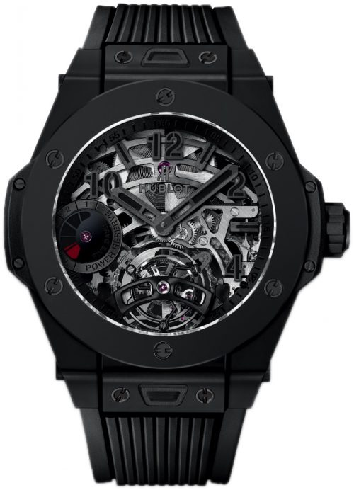 Hublot Big Bang 45Mm Herrklocka 405.CI.0110.RX Skelettskuren/Gummi