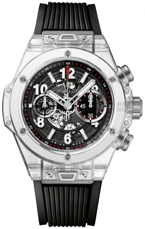 Hublot Big Bang 45Mm Herrklocka 411.JX.1170.RX Skelettskuren/Gummi