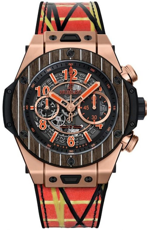 Hublot Big Bang 45Mm Herrklocka 411.OQ.1189.NR.ITI18