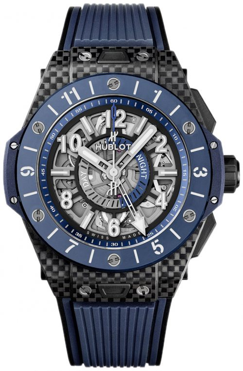 Hublot Big Bang 45Mm Herrklocka 471.QL.7127.RX Skelettskuren/Gummi