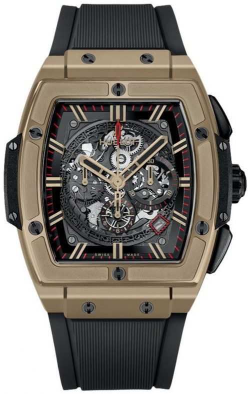 Hublot Big Bang 45Mm Herrklocka 601.MX.0138.RX Skelettskuren/Gummi