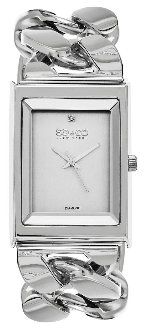 So & Co New York SoHo Damklocka 5094.1 Silverfärgad/Stål