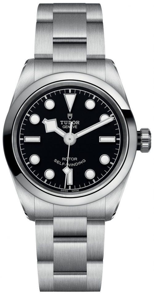 Tudor Black Bay Damklocka 79580-0001 Svart/Stål Ø32 mm