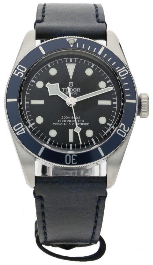 Tudor Black Bay Herrklocka 79230b-0002 Svart/Läder Ø41 mm