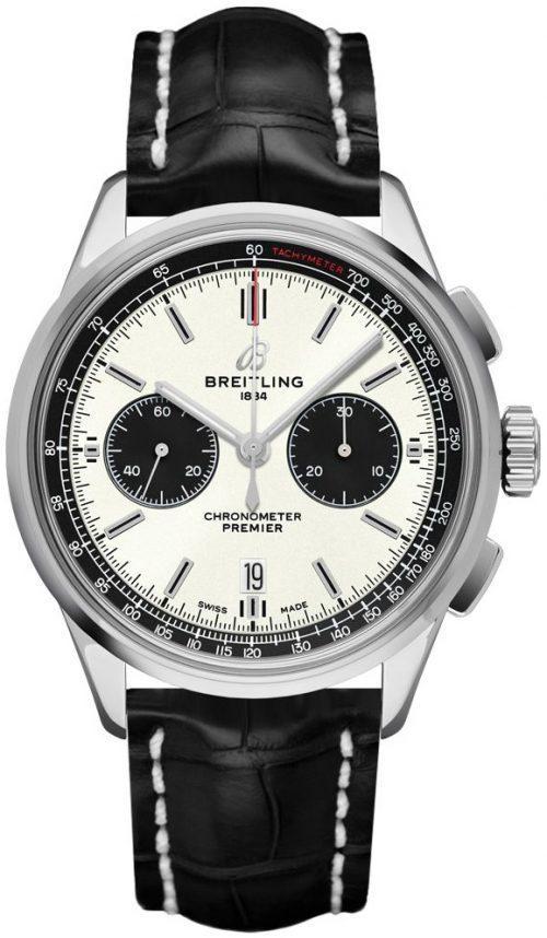 Breitling Premier Chronograph 42 Herrklocka AB0118221G1P1