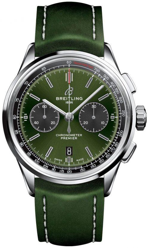 Breitling Premier Chronograph 42 Herrklocka AB0118A11L1X1