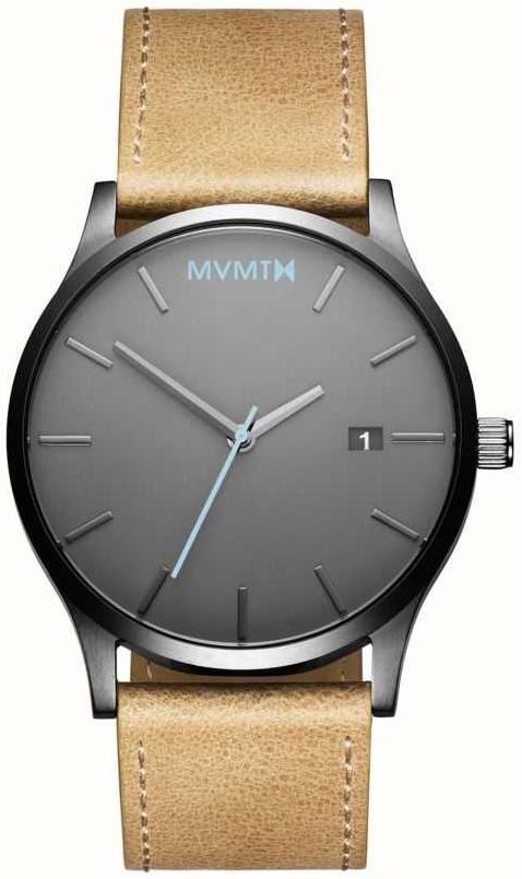 MVMT Classic Herrklocka MM01-GML Grå/Läder Ø45 mm