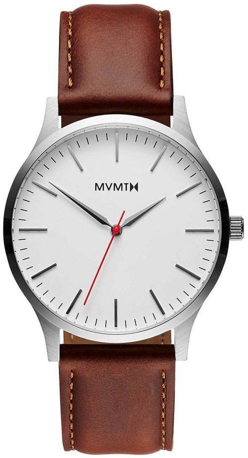 MVMT Series Herrklocka MT01-SNA Vit/Läder Ø40 mm