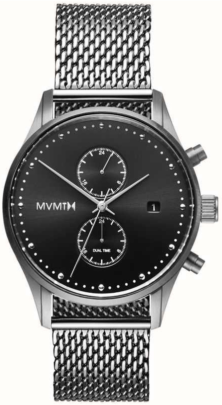 MVMT Voyager Herrklocka MV01-S2 Svart/Stål Ø42 mm