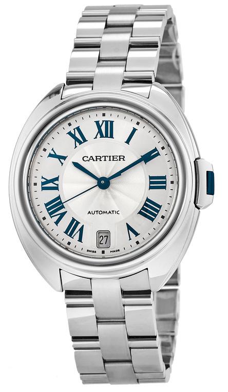Cartier Calibre de Cartier Damklocka WSCL0006 Silverfärgad/Stål