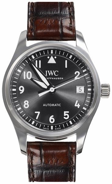 IWC Pilots Classic Damklocka IW324001 Grå/Läder Ø36 mm