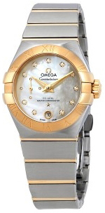 Omega Constellation Co-Axial 27Mm Damklocka 127.20.27.20.55.002
