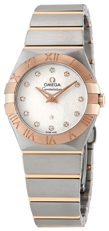 Omega Constellation Quartz 27Mm Damklocka 123.20.27.60.52.002