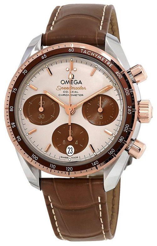 Omega Speedmaster Chronograph 38Mm Damklocka 324.23.38.50.02.002