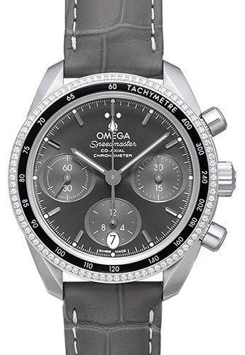 Omega Speedmaster Chronograph 38Mm Damklocka 324.38.38.50.06.001