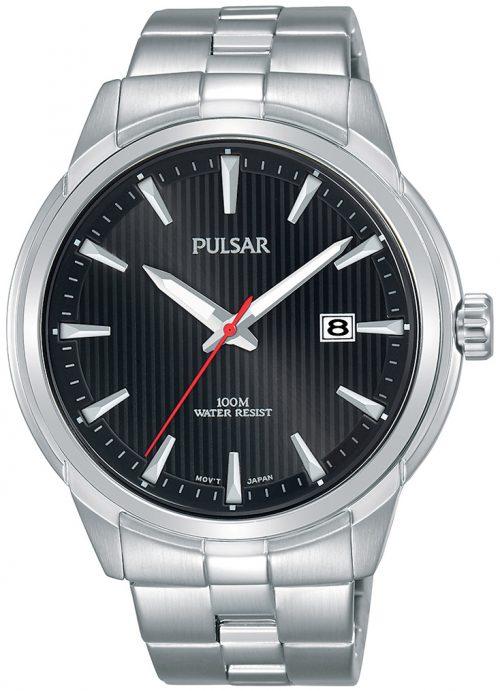 Pulsar Classic Herrklocka PS9581X1 Svart/Stål Ø44 mm