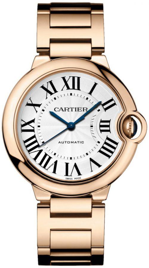 Cartier Ballon Bleu De Cartier Damklocka WGBB0008 Silverfärgad/18