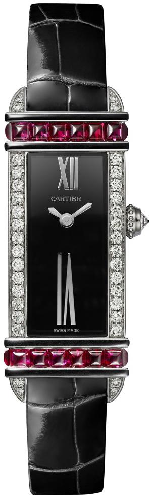 Cartier Libre Damklocka WJLI0014 Svart/Läder