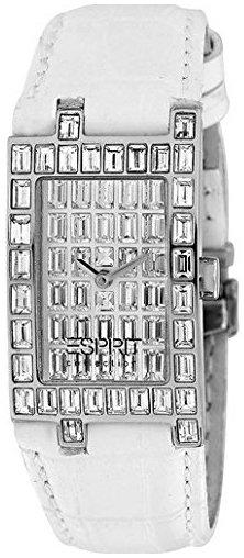Esprit Esprit Collection Damklocka EL101232F01 Kristallinfattad/Läder