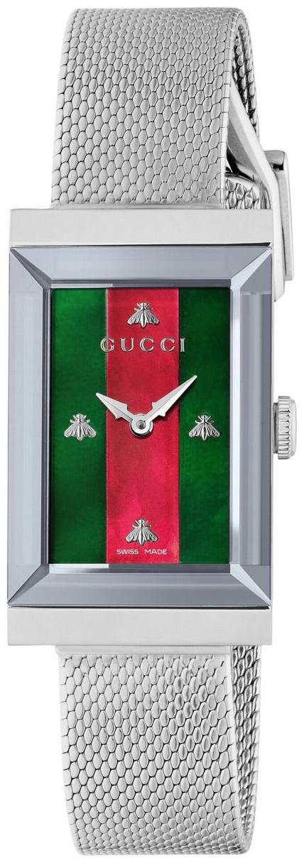 Gucci G-Frame Damklocka YA147401 Flerfärgad/Stål