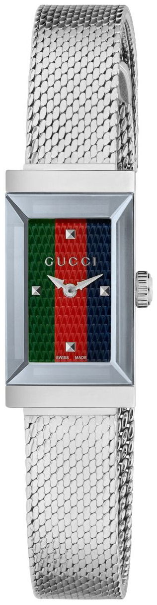 Gucci G-Frame Damklocka YA147510 Flerfärgad/Stål