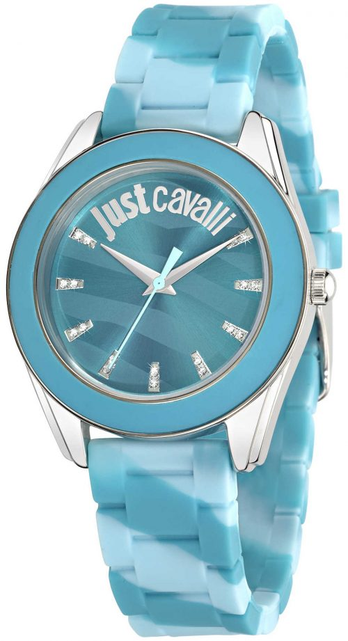 Just Cavalli Just Dream Damklocka R7251602502 Blå/Gummi Ø38 mm
