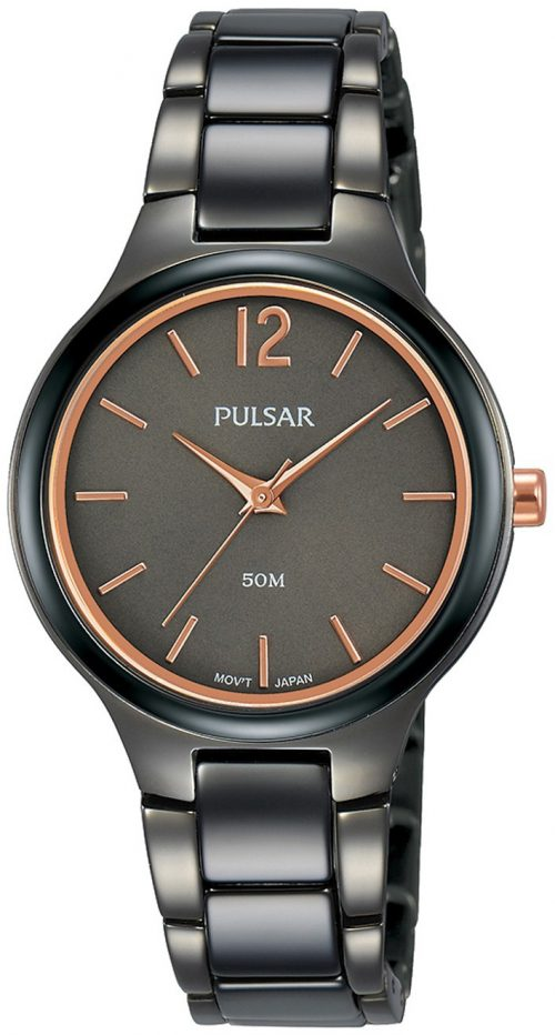 Pulsar 99999 Damklocka PH8435X1 Grå/Keramik Ø30 mm