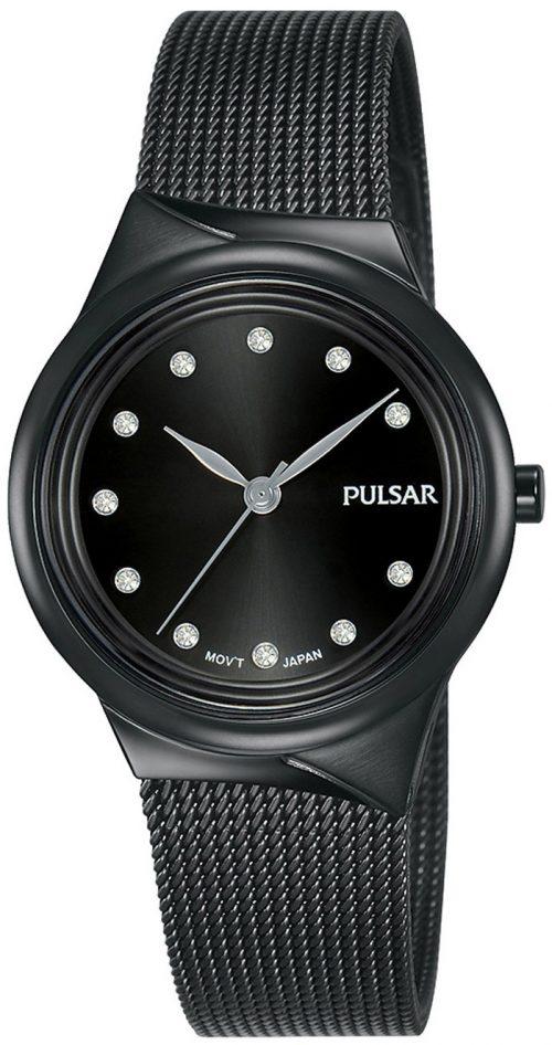 Pulsar Classic Damklocka PH8443X1 Svart/Stål Ø30 mm