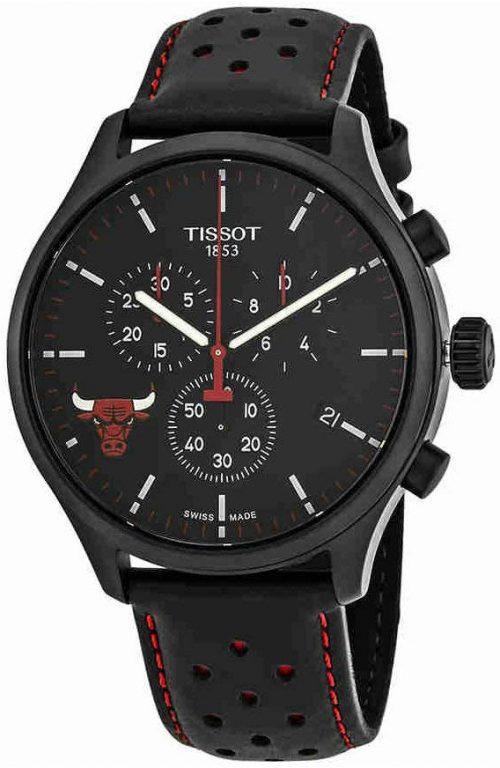 Tissot T-Sport Herrklocka T116.617.36.051.00 Svart/Läder Ø45 mm
