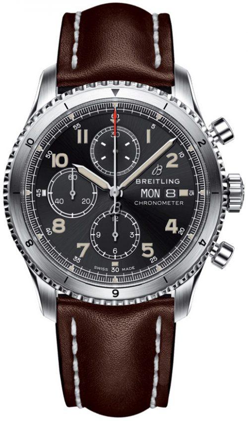 Breitling Aviator 8 Chronograph 43 Herrklocka A13316101B1X3