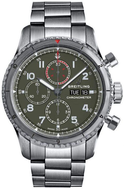 Breitling Aviator 8 Chronograph 43 Herrklocka A133161A1L1A1