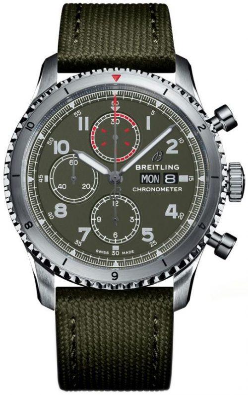 Breitling Aviator 8 Chronograph 43 Herrklocka A133161A1L1X1