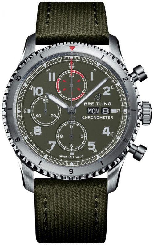 Breitling Aviator 8 Chronograph 43 Herrklocka A133161A1L1X2