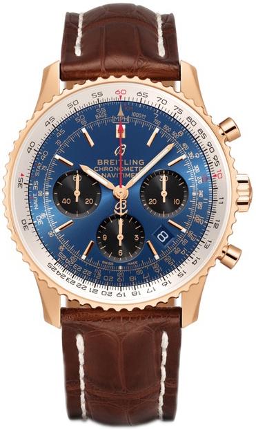 Breitling Navitimer 1 B01 Chronograph 43 Herrklocka RB0121211C1P4