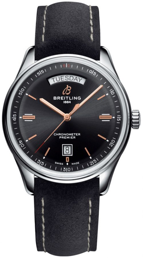 Breitling Premier Automatic Day & Date 40 Herrklocka