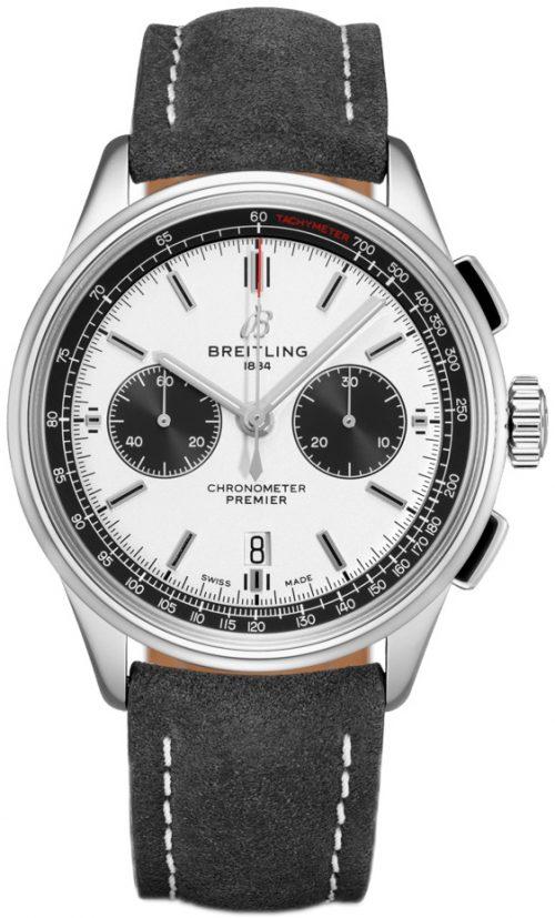 Breitling Premier B01 Chronograph 42 Herrklocka AB0118221G1X2