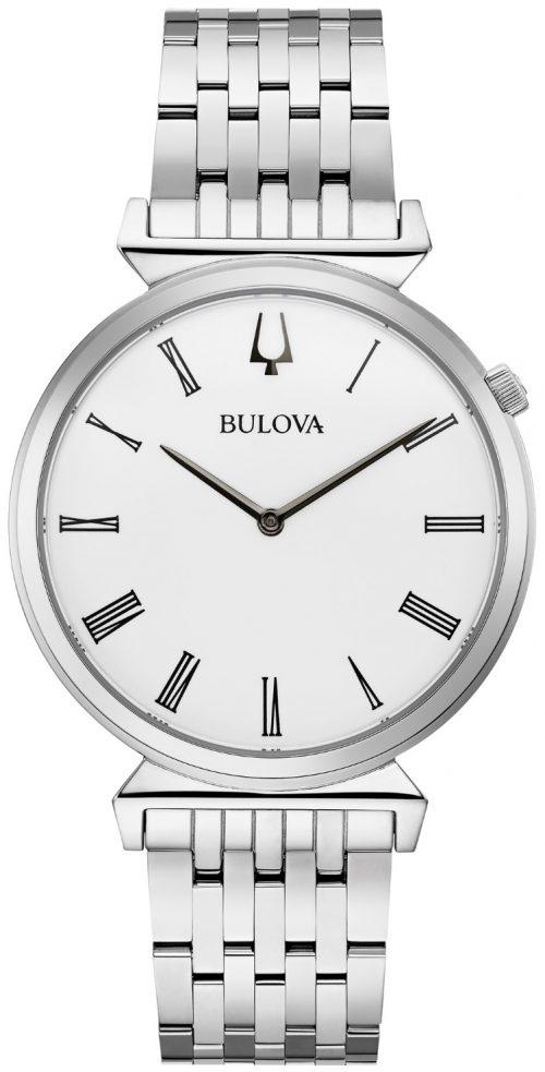 Bulova Classic Herrklocka 96A232 Vit/Stål Ø38 mm