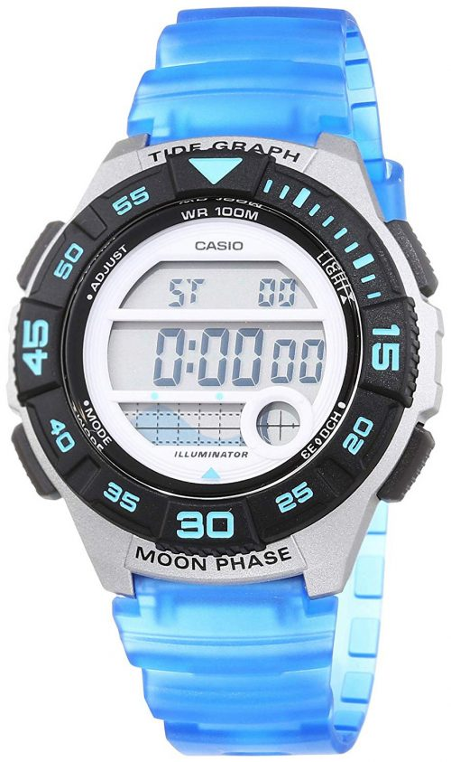 Casio Casio Collection Damklocka LWS-1100H-2AVEF LCD/Resinplast Ø38