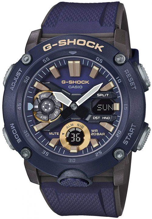 Casio G-Shock Herrklocka GA-2000-2AER LCD/Resinplast Ø48.7 mm
