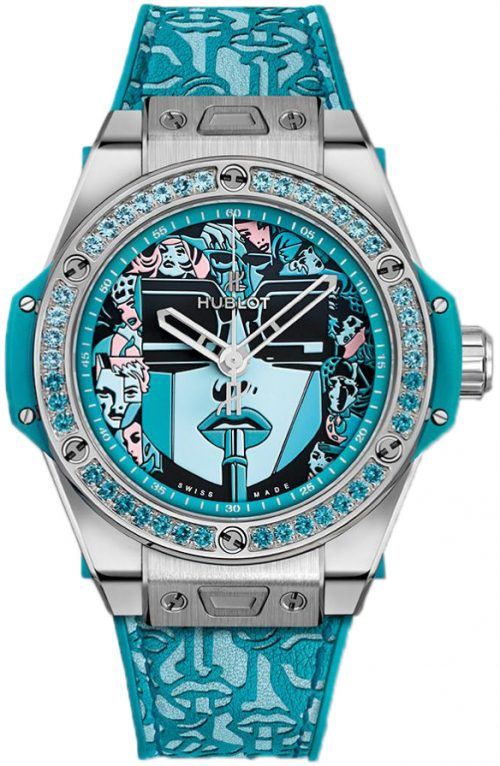 Hublot Big Bang 39Mm Damklocka 465.SX.1190.VR.1207.LIP19