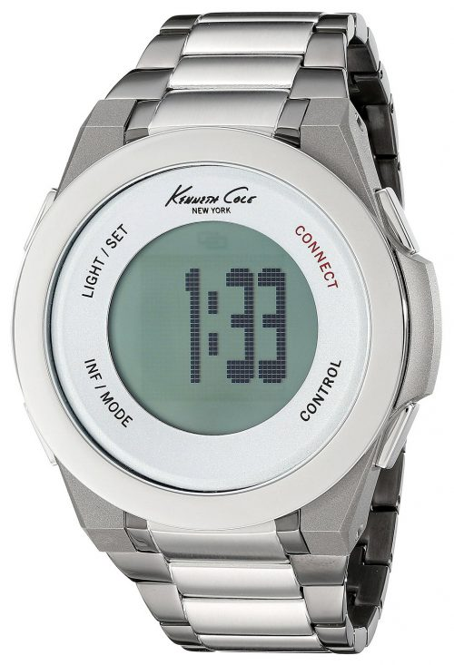 Kenneth Cole Technology Herrklocka 10023868 LCD/Stål Ø50 mm