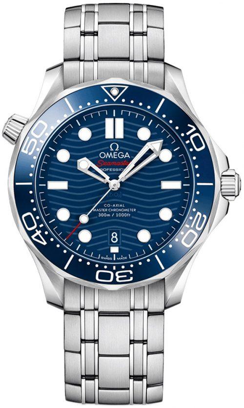 Omega Seamaster Diver 300m Herrklocka 210.30.42.20.03.001 Blå/Stål