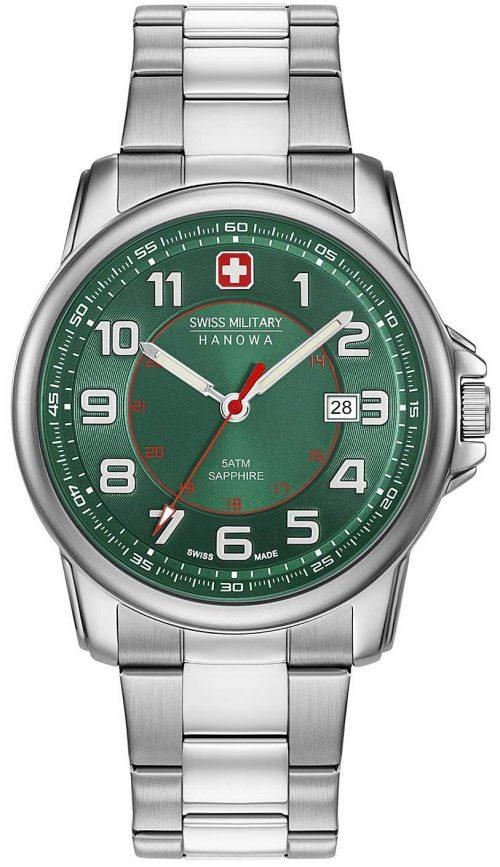 Swiss Military Swiss Grenadier Herrklocka 06-5330.04.006 Grön/Stål