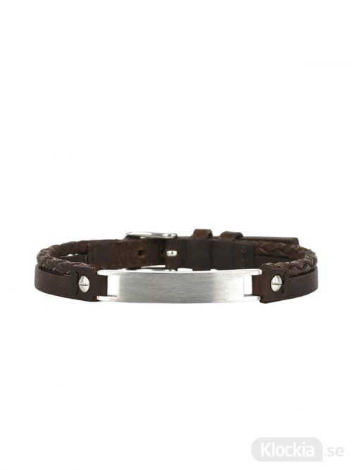 AROCK Armband PONTUS Brunt/Stål 362952