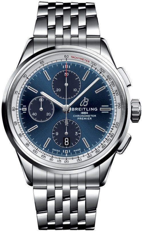 Breitling Premier B01 Chronograph 42 Herrklocka AB0118221C1A1