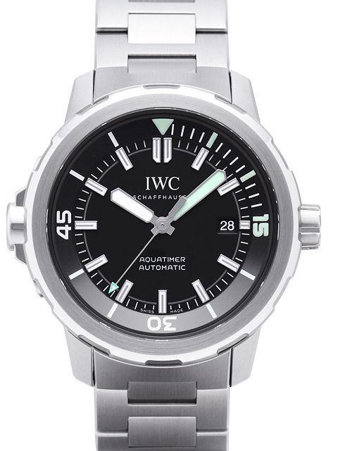 IWC Aquatimer Automatic Herrklocka IW329002 Svart/Stål Ø42 mm