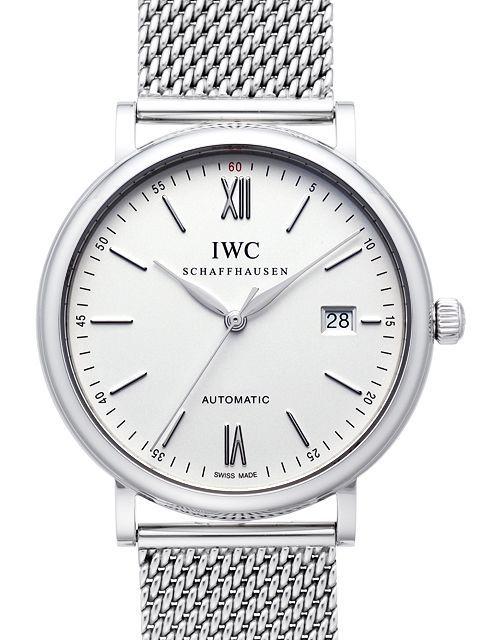 IWC Portofino Herrklocka IW356505 Silverfärgad/Stål Ø40 mm