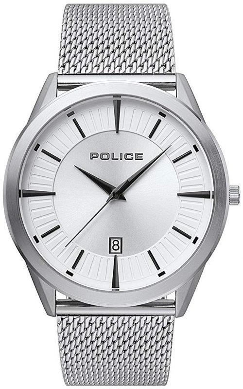 Police 99999 Herrklocka PL15305JS.04MM Silverfärgad/Stål Ø44 mm