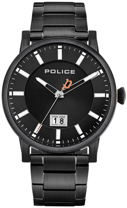 Police 99999 Herrklocka PL15404JSB.02M Svart/Stål Ø42 mm